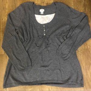 Motherhood Maternity Sweater Size XL